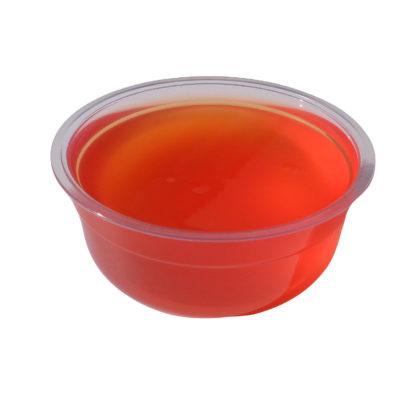 Embalagem slime cidra de mação vermalha